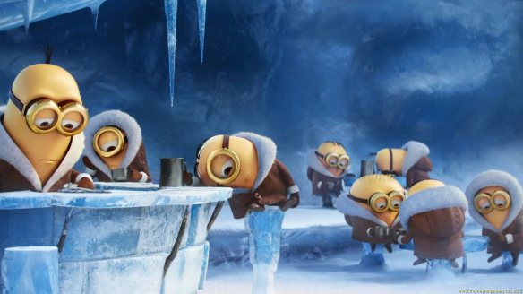 Minions-In-Ice-Cold-HD-Wallpaper
